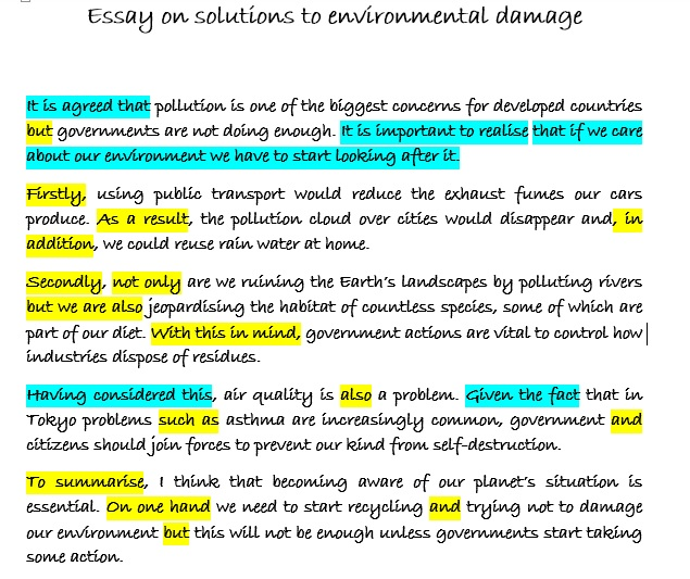 essays on the environment and how we should take action Books & essays environment  and widely cited as evidence that human action causes ecological  we should take all the steps necessary for moving towards a.