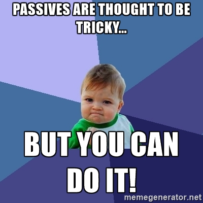 The Passive Voice (Part 2)